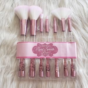 Liquid Rose Sparkle Brush Set